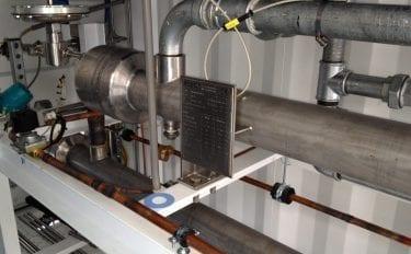 High pressure hydrogen cooler (P5096)